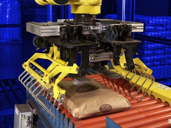 Robot Bag Palletizer
